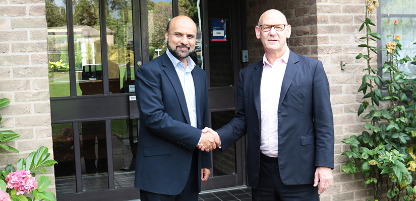 Cllr. Andy Furlong visited the Islamic Foundation