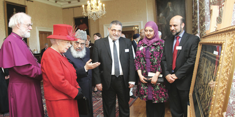 The Queen marks her Diamond Jubilee with faith communities