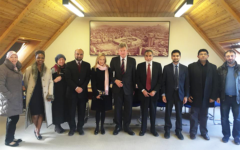 The Rt Hon David Tredinnick MP Visits the Islamic Foundation